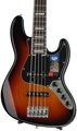 Fender American Elite Jazz Bass V - 3-Color Sunburst, Rosewood Fingerboard