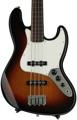 Fender Standard Jazz Bass, Fretless - Brown Sunburst with Rosewood Fingerboard