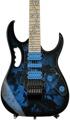 Ibanez JEM 77 Steve Vai, Plek'd - Blue Floral Pattern