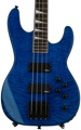 Jackson JS3 Concert Bass - Transparent Blue