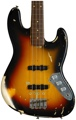 Fender Custom Shop Jaco Pastorius Fretless Jazz Bass Relic - 3-Color Sunburst