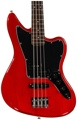 Squier Vintage Modified Jaguar Bass Special - Crimson Red Transparent