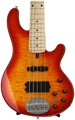 Lakland Skyline 55-02 Deluxe - Cherry Sunburst, Maple Fingerboard