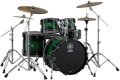 Yamaha Live Custom 4-piece Shell Pack - Emerald Shadow Sunburst