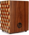 Latin Percussion Peruvian Solid Wood Brick Cajon - with Bag