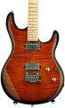 Ernie Ball Music Man Luke III BFR, HH, Flame Maple Top - Vintage Tobacco Burst