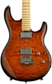 Ernie Ball Music Man Luke III BFR, HH, Quilt Maple Top - Vintage Tobacco Burst