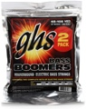 GHS M3045-2 Bass Boomers Roundwound Long Scale Medium Electric Bass Strings - 2-Pack