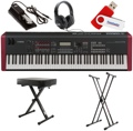 Yamaha MOXF8 88-key Essential Keyboard Bundle