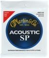 Martin MSP-4100 SP 92/8 Phosphor Bronze Light Acoustic Strings