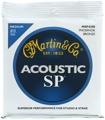 Martin MSP-4200 SP 92/8 Phosphor Bronze Medium Acoustic Strings
