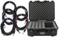 Gator /Pro Co Bundle - Sweetwater Exclusive! Mic Case + (5) XLR Cables
