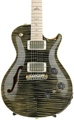 PRS P245 Semi-Hollow Artist Package - Obsidian with Pattern Neck