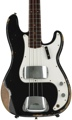 Fender Custom Shop 1962 P Bass Heavy Relic - Black
