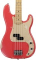 Fender Road Worn '50s Precision Bass - Fiesta Red