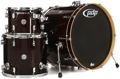 PDP Concept Maple Shell Pack - 3-piece - Transparent Walnut