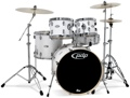 PDP Mainstage 5-piece Drum Set with Hardware and Zildjian Cymbals - Gloss White