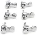 Graph Tech Ratio Locking Tuned Machine Heads - 6 In Line Contemporary Chrome