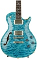 PRS Private Stock #6656 McCarty 594 Singlecut Semi-Hollow - Double Stained Faded Aquamarine