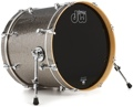 DW Performance Series Bass Drum 16x20 - Titanium Sparkle Finish Ply