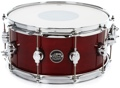 """DW Performance Series Snare Drum - 6.5""""x14"""" - Cherry Stain Lacquer"""