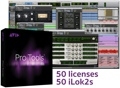 Avid Pro Tools 12 Software for Educational Institutions 50-pack (boxed - includes iLok)
