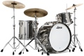 Ludwig Pro Beat 24 Stainless Steel 3-piece Shell Pack - Polished Finish