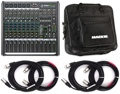 Mackie ProFX12v2 12-channel Mixer with Case and Cables
