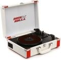 Rock N Rolla Premium Briefcase Turntable - White