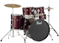 Pearl Roadshow 5pc Drum Set with Wuhan Cymbals - Wine Red