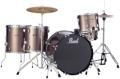 Pearl Roadshow 5pc Rock Drum Set with Wuhan Cymbals - Bronze Metallic