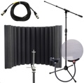 sE Electronics ReflexionX Studio Package - w/Stand, Cable, and Pop Filter