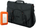 LaCie Rugged RAID Bundle - 4TB Thunderbolt and USB 3.0 with Gator Messenger Bag