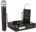 Shure SLX124/85/SM58 Combo Wireless System - H5 Band, 518-542MHz