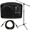 Mackie SRM150 Compact PA Monitor with Stand and Cable