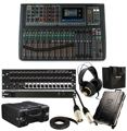Soundcraft Si Impact Mixer with Mini Stagebox 32, Cases, and Accessories