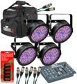 Chauvet DJ SlimPAR 56 RGB PAR Package