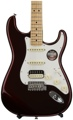Fender American Standard Stratocaster HSS Shawbucker - Bordeaux Metallic, Maple Fingerboard