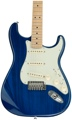 Fender Deluxe Stratocaster - Sapphire Blue Transparent, Maple fingerboard