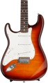 Fender Standard Stratocaster Plus Top Left-handed - Tobacco Sunburst with Rosewood Fingerboard