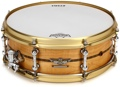 "Tama Star Reserve Solid Maple Snare Drum - 5""x14"" - Oiled Natural Maple"