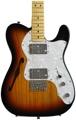 Squier Vintage Modified '72 Tele Thinline - 3-tone Sunburst