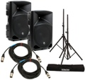 Mackie Thump 15 Speaker Pair with Stands and Cables