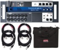 Soundcraft Ui16 16-channel Digital Mixer with Case and Cables