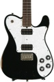 Friedman Vintage T with Humbuckers and Alder Body - Black with Rosewood Fingerboard