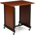 On-Stage Stands WSR7500 Rack Cabinet - Rosewood