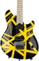 EVH Wolfgang Special - Black and Yellow Stripes