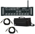 Behringer X Air XR12 Digital Mixer with Case and Cables