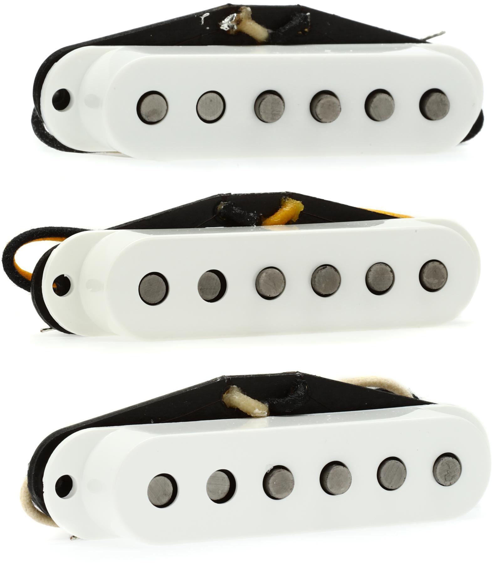 1. Fender Custom Shop Pickups Strat Texas Specials