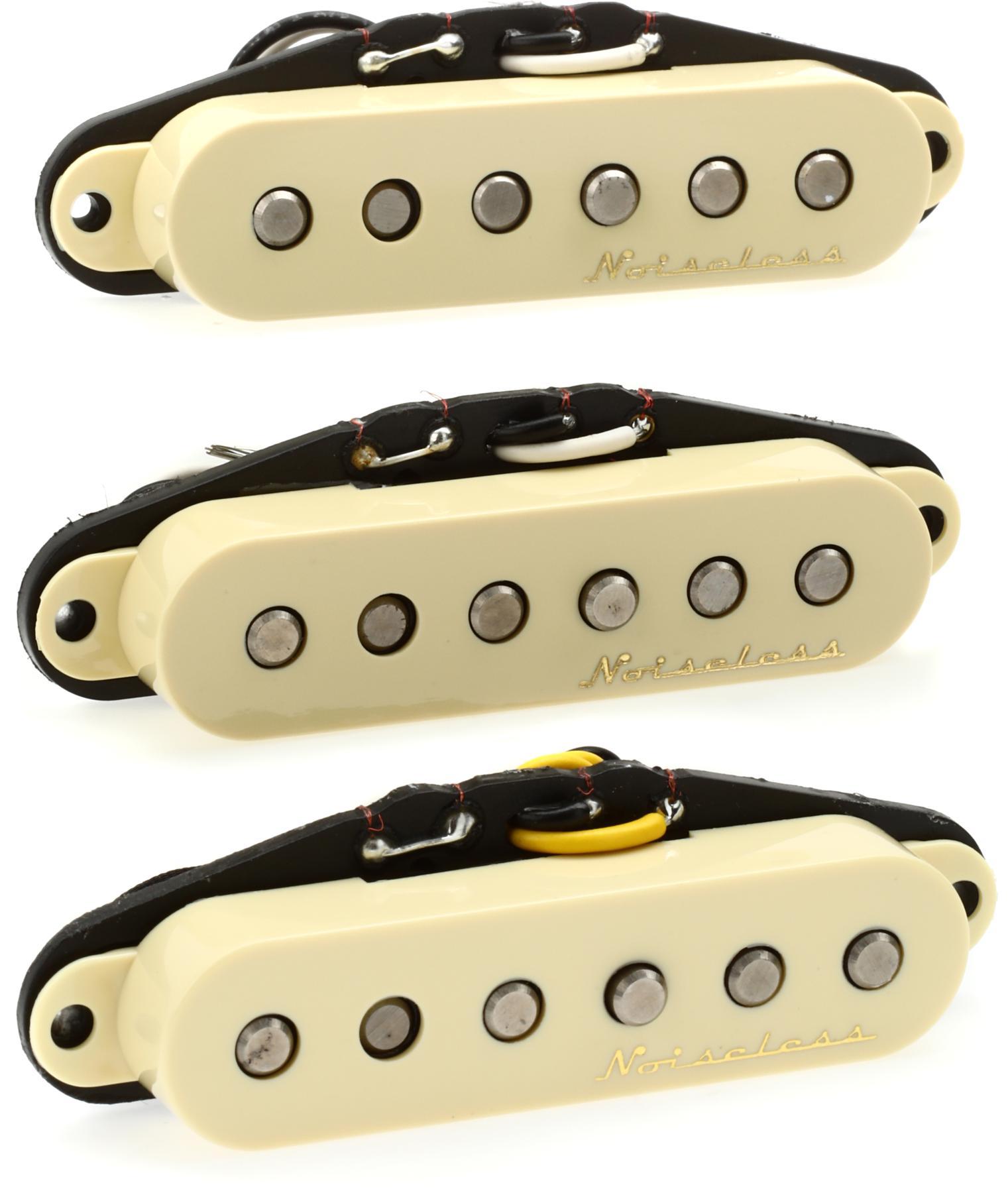 7. Fender Strat Hot Noiseless Pickups